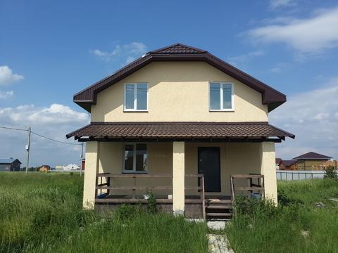 Дом под ключ 160м2 на участке 10,4 сотки в кп Кузнецовское Подворье - Фото 1