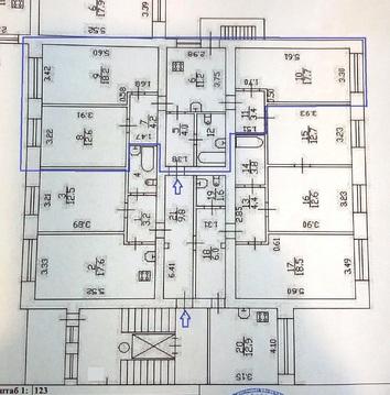 Просторная трехкомнатная квартира - Фото 3