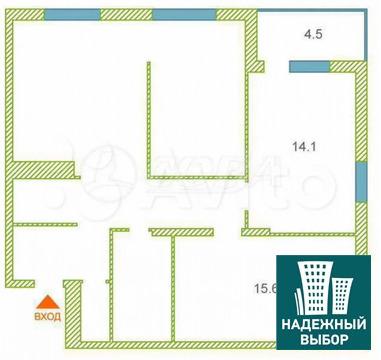 Объявление №65165256: Продаю 1 комн. квартиру. Тюмень, ул. Бориса Житкова, д. 6,