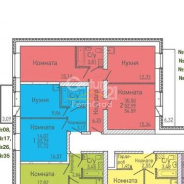 """2х комнатная квартира в Клубном доме """"Прага"""" - Фото 1"""
