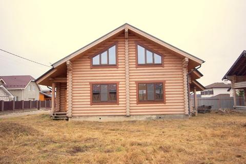 Добротный дом из оцилиндрованного бруса - Фото 2