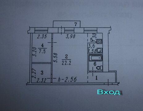 Продаю 2-х комнатную на Панфилова,10 - Фото 2