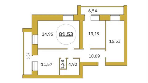 Объявление №52003279: Продаю 3 комн. квартиру. Тюмень, ул. Революции, 228,