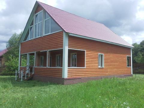 Дом 200 м2, Прописка, 15 соток, д.Курганиха - Фото 1