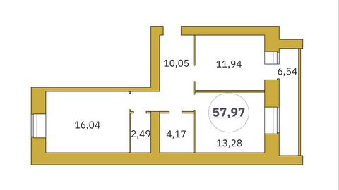 Объявление №52003282: Продаю 2 комн. квартиру. Тюмень, ул. Революции, 228,