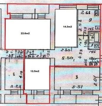 Площадь Победы 1; 3-комнатная квартира стоимостью 3500000 город . - Фото 1