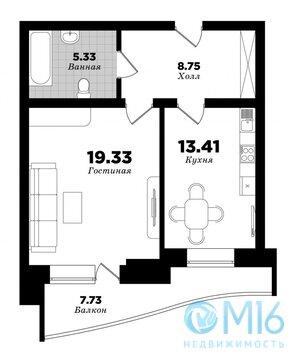 Продажа однокомнатной квартиры ЖК Поэма у трех озер - Фото 2