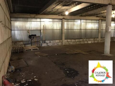 Помещение под склад, холодн, выс. потолка:4 м, огорож. терр, охрана - Фото 1