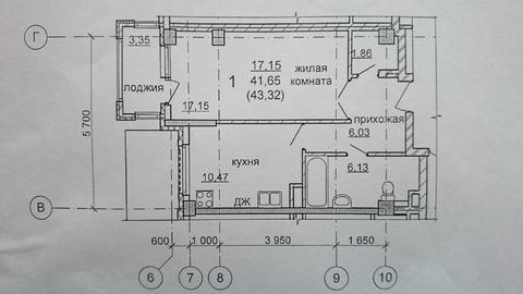 Продажа 1-комнатной квартиры ул. Щербакова д.14, ЖК Преображенский - Фото 4