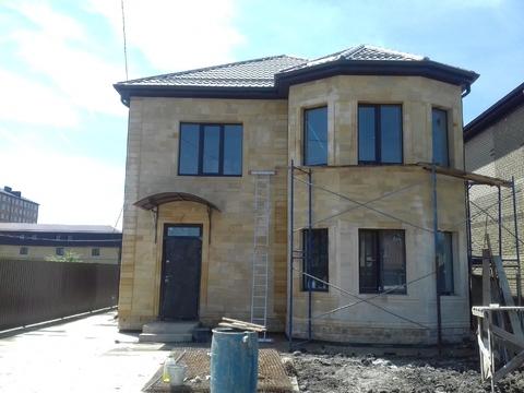 Готовый дом 140 м2.4 сот.Из дагестанского камня - Фото 3