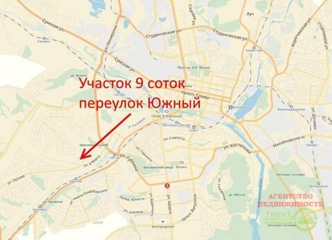 Участок ИЖС 9 соток район ул. 8 Марта