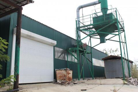 Производственная база с железнодорожным тупиком - Фото 1