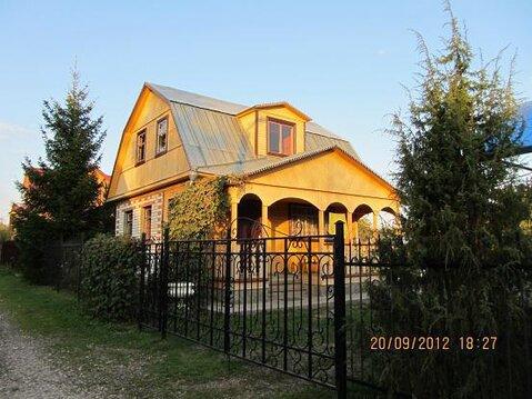 Продается кирпичная дом - дача с баней на участке 10 соток - Фото 1