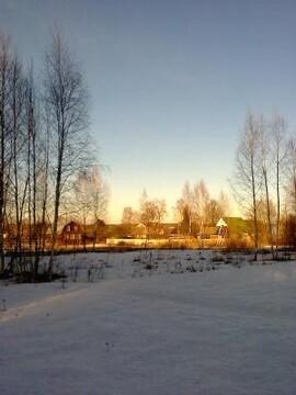 Участок, Минское ш, 90 км от МКАД, Можайск, В деревне. Участок 15 . - Фото 1