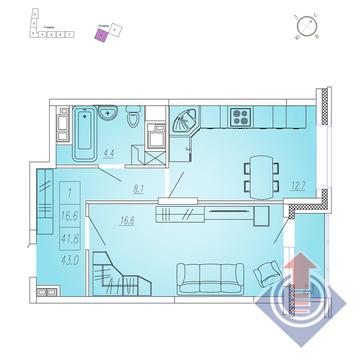 Продажа квартиры, Мытищи, Мытищинский район, Купить квартиру в новостройке от застройщика в Мытищах, ID объекта - 328978929 - Фото 1