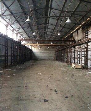 Под склад, ангар, холод, выс. потолка: 7 м, охрана, промзона, огорож. - Фото 1