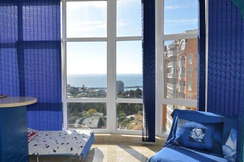 250 000 $, Видовая 2-к.квартира в новом престижном комплексе в Ялте, Купить квартиру в Ялте по недорогой цене, ID объекта - 316452361 - Фото 1
