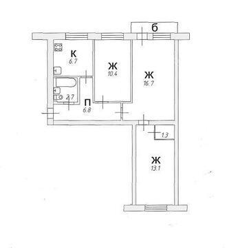 Продажа квартиры, Великий Новгород, Ул. Большая Власьевская - Фото 1