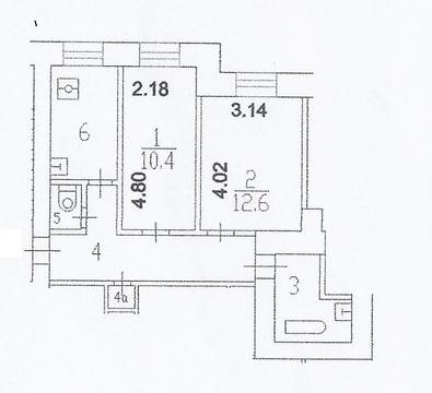 Продам 2-х комнатную квартиру в Хамовниках - Фото 3