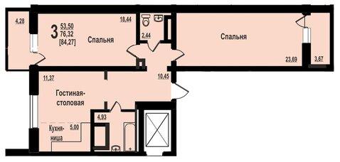 Квартира, ул. Братьев Кашириных, д.131 - Фото 2