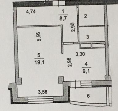 Продажа 1 комнатной квартиры Подольск 43-й Армии д.19 - Фото 2