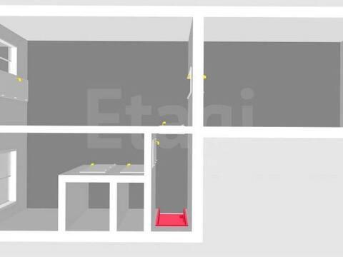 Продажа двухкомнатной квартиры на улице Худайбердина, 99 в ., Купить квартиру в Стерлитамаке по недорогой цене, ID объекта - 320177995 - Фото 1