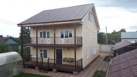 Жилой дом 200 кв.м. на участке 9 сот. в п. Малино, Ступинского района - Фото 1