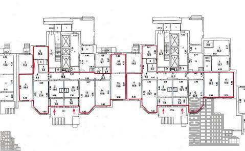 Помещение с отдельным входом, лифт,1 этаж,25-этажный дом, Борисовка - Фото 4