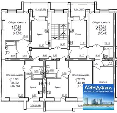 1 комнатная квартира, Воскресенская, 32б - Фото 3