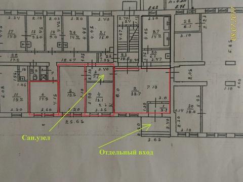 Сдаётся помещение на первой линии 117 м2 - Фото 4