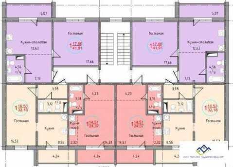 Продам 1-комнат квартиру Дегтярева, д56а 4эт, 33кв.м - Фото 2