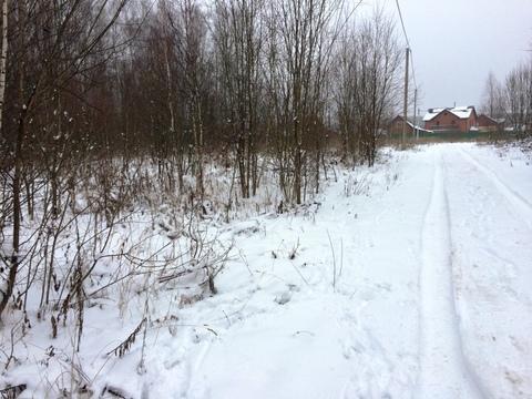 15 соток деревня Тюфанка Чеховский район - Фото 1