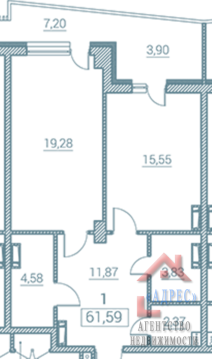 "Однокомнатная квартира ЖК ""marina deluxe"" г. Севастополь - Фото 4"