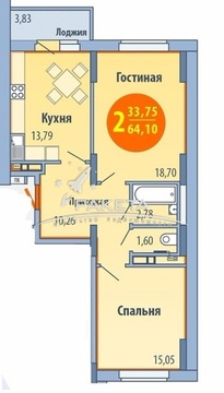 Продажа квартиры, Ижевск, Ул. Кунгурцева Е.М. - Фото 5
