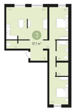 Продажа квартиры, Тюмень, Михаила Сперанского, Купить квартиру в Тюмени по недорогой цене, ID объекта - 315044349 - Фото 1