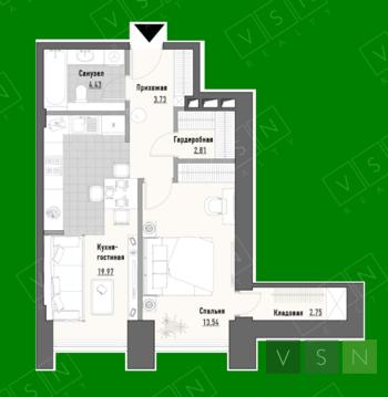 Продается квартира г.Москва, Проспект Мира, Продажа квартир в Москве, ID объекта - 323166968 - Фото 1