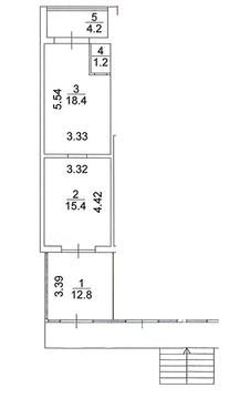 Аренда торгового помещения 52 м2 - Фото 2