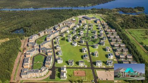 Продам 4 комнатные апартаменты с террасой в МФК Лахта парк в п.Лахта - Фото 1