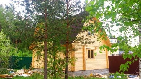 Дом-баня 80м2 на участке 15 соток в Щелково ИЖС. - Фото 1