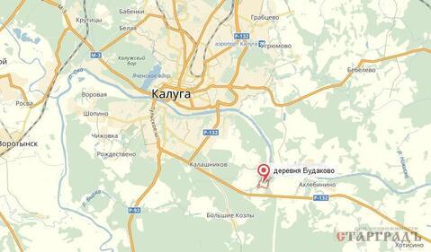 Участок 22 сот. в Будаково у Оки всего в 12 км от Калуги! - Фото 5