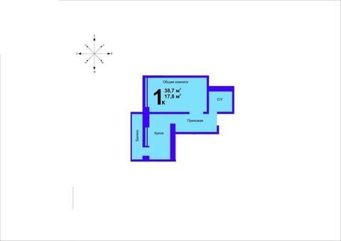 Квартира, город Херсон, Купить квартиру в Херсоне по недорогой цене, ID объекта - 315258804 - Фото 1