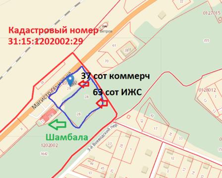 Объявление №65050451: Продажа участка. Белгород