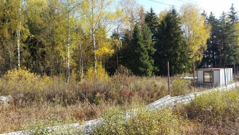 Участок 14, 8 соток, в деревне Брехово ( г. Голицыно ) - Фото 1
