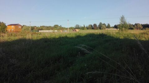 Земельный участок 12 соток МО, Ступинский район, д. Бессоново - Фото 1