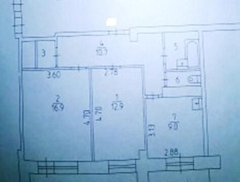 2 комн.квартира с 2-мя лоджиями. ул. Кронштадтская,10 - Фото 2