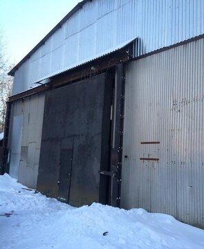Под склад, ангар, холод, выс. потолка: 7 м, охрана, промзона, огорож. - Фото 2