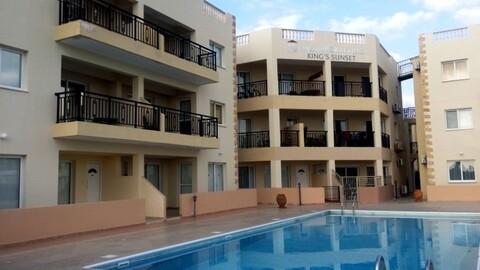 Трехкомнатный Апартамент с видом на море и недалеко от моря в Пафосе - Фото 1