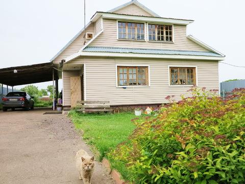 Жилой дом 190 кв.м, 15 сот, ИЖС, газовое отопление. 50 км. от МКАД. - Фото 1