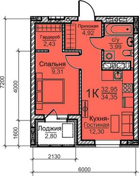 Продажа квартиры, Барнаул, Ул. Гулькина - Фото 1