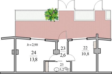 Готовый офис (А), 30,1 м2 с ремонтом в Ялте - Фото 2